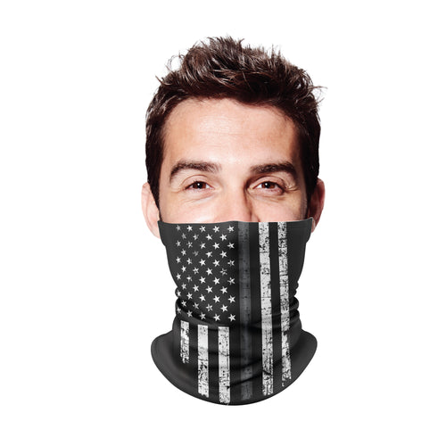 Thin Grey Line Gaiter Face Mask
