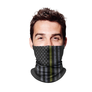 Thin Green Line Gaiter Face Mask