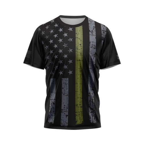 Thin Green Line Performance Tee