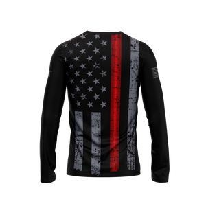 Thin Red Line Long Sleeve Performance Tee
