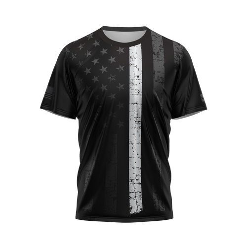 Thin White Line Performance Tee