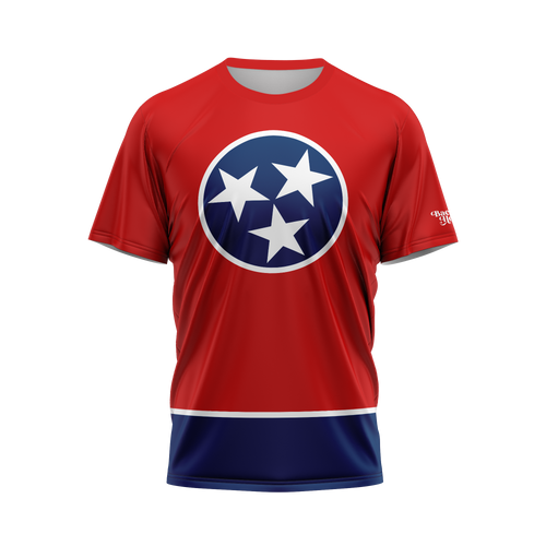 Tennessee Flag Performance Tee