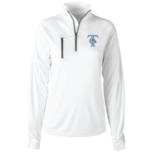 Trinity Ladies Long Sleeve White Jacket