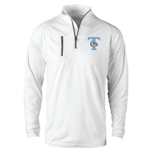 Trinity Mens Long Sleeve White Jacket