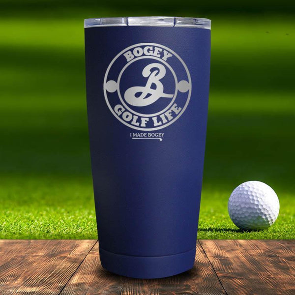 Brooklyn Lager Golf Life Tumbler