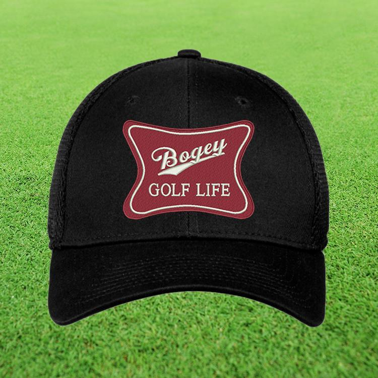 Bogey Golf Life New Era Flex Fit Hat - I Made Bogey 0dacd2a44ad