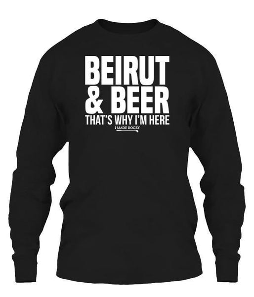 Beirut and Beer That's Why I'm Here
