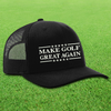 Make Golf Great Again Trucker Hat