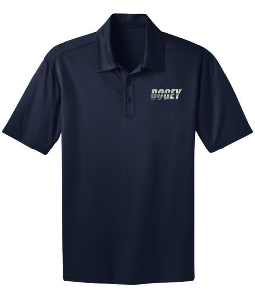 Bogey Slice Embroidered Dri-Fit Polo