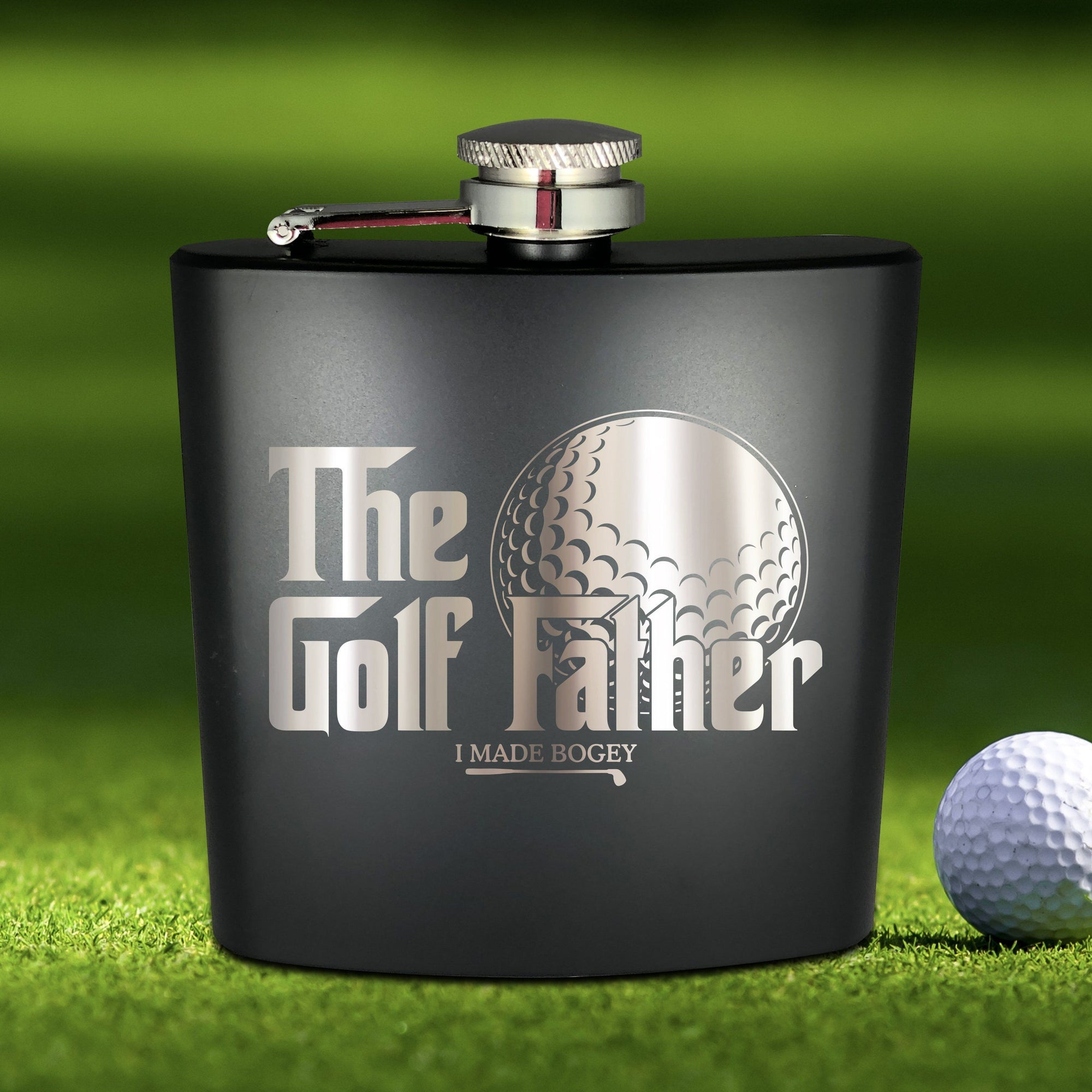 The Golf Father Flask