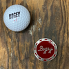 Bogey Poker Chip Ball Marker (Metal)