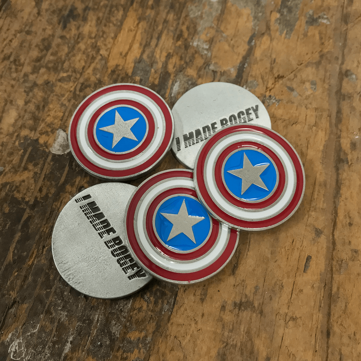 America Shield Ball Marker