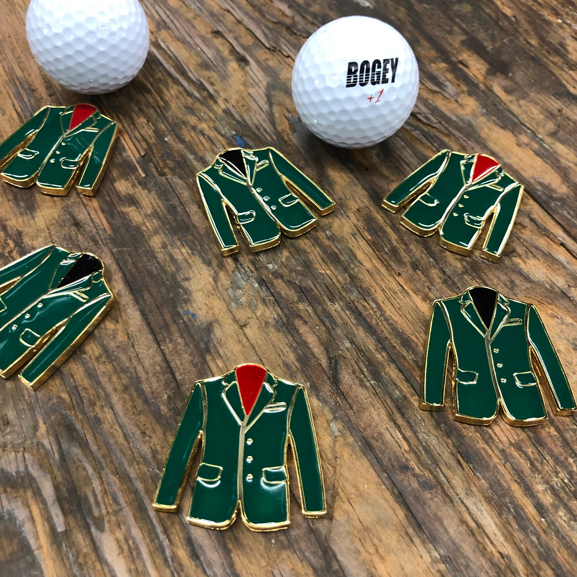 Green Jacket Ball Marker