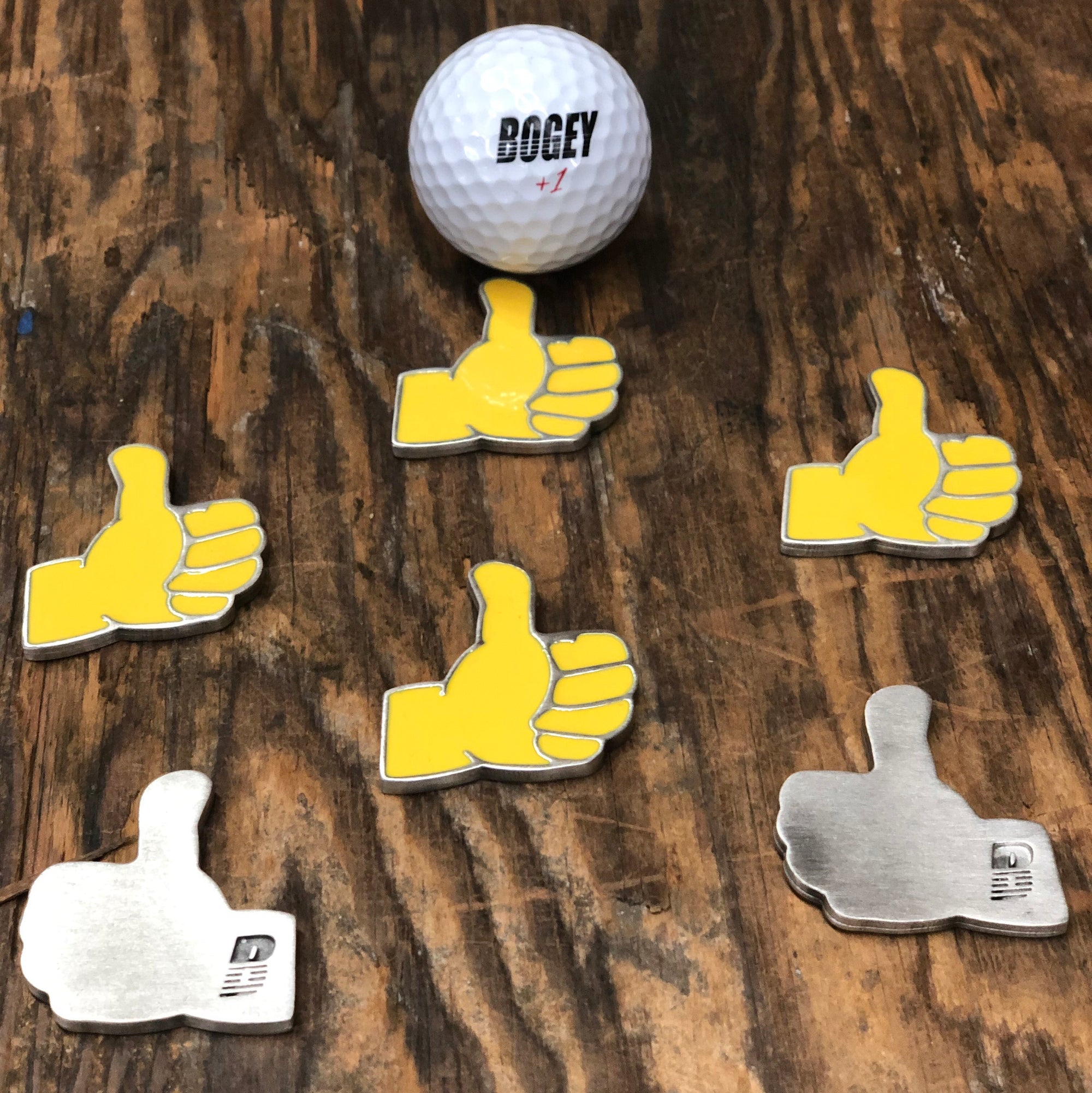 Thumbs Up Emoji Ball Marker