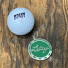 Lefty Poker Chip Ball Marker (Metal)