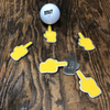 Middle Finger Emoji Ball Marker