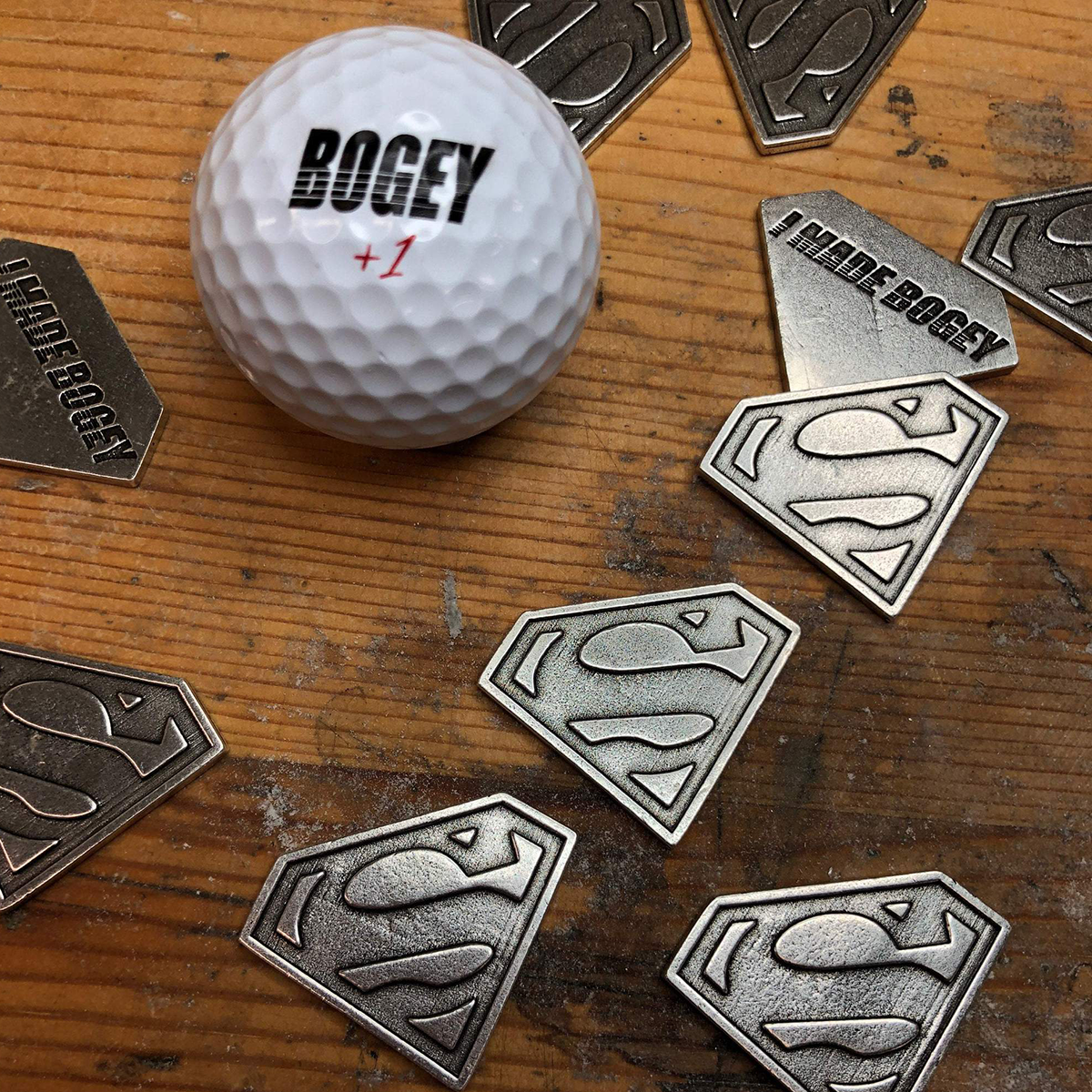 Superman Ball Marker