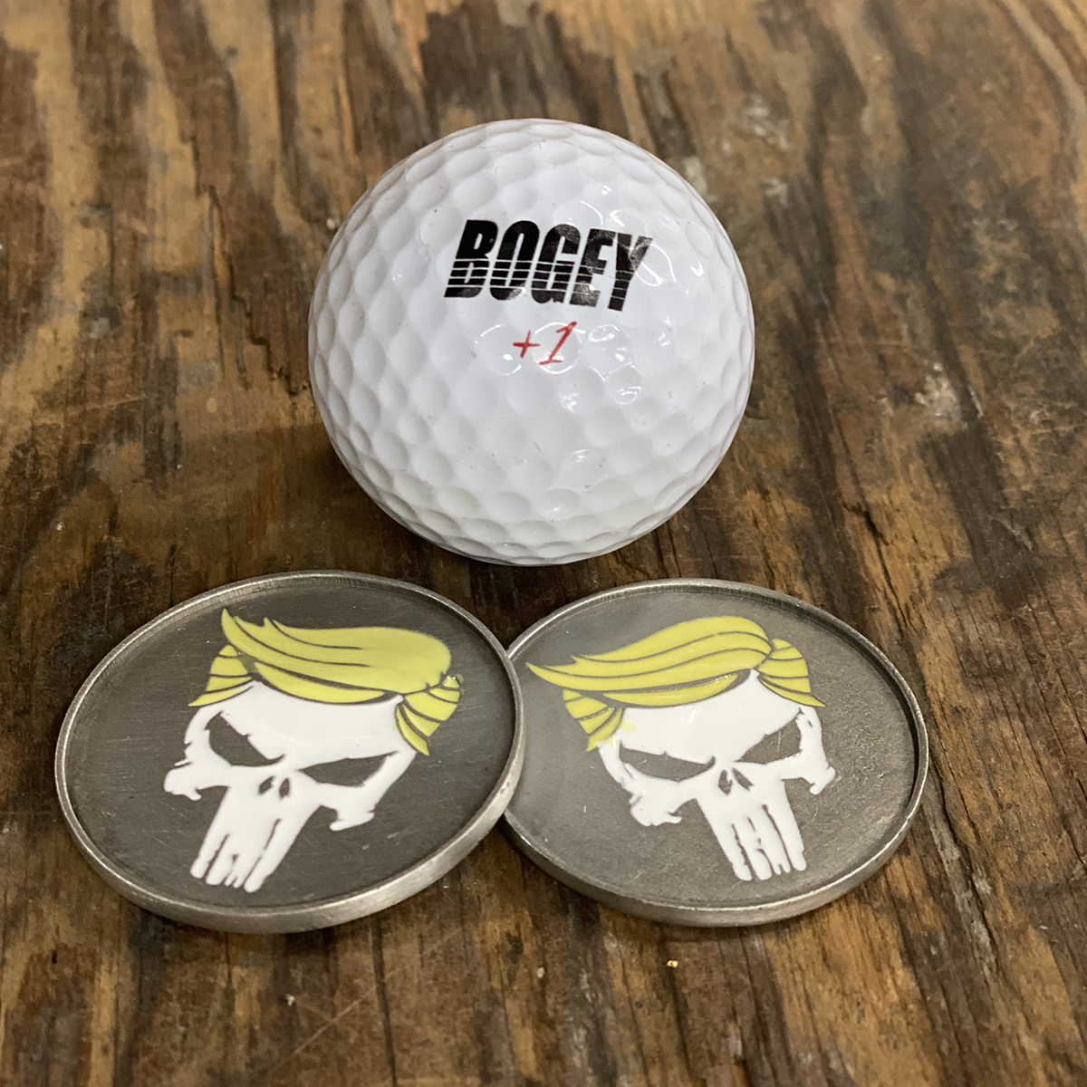 Trump Punisher Ball Marker