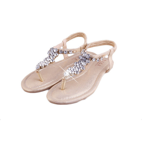 Sexy ladies rhinestone sandals