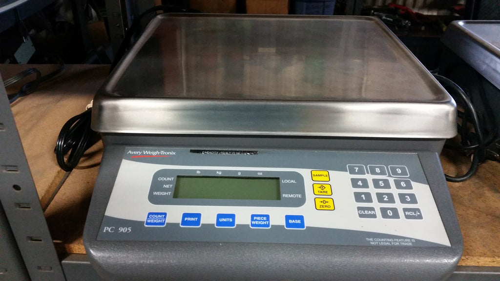 Used Avery Weigh Tronix PC 905 Counting Scale
