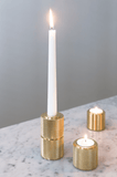 Lux Brass Candle and Tealight