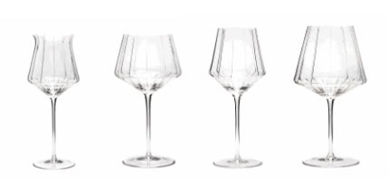 4 Tasting Glasses Pythagore