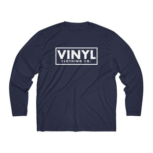 Vinyl Clothing Co. Men's Long Sleeve Moisture Absorbing Tee