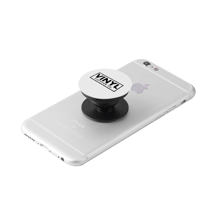 Vinyl Clothing Co. Black Collapsible Grip & Stand for Phones and Tablets