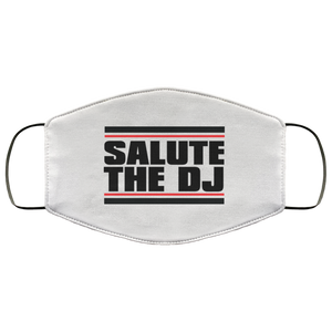 Salute The DJ Face Mask (WHT)