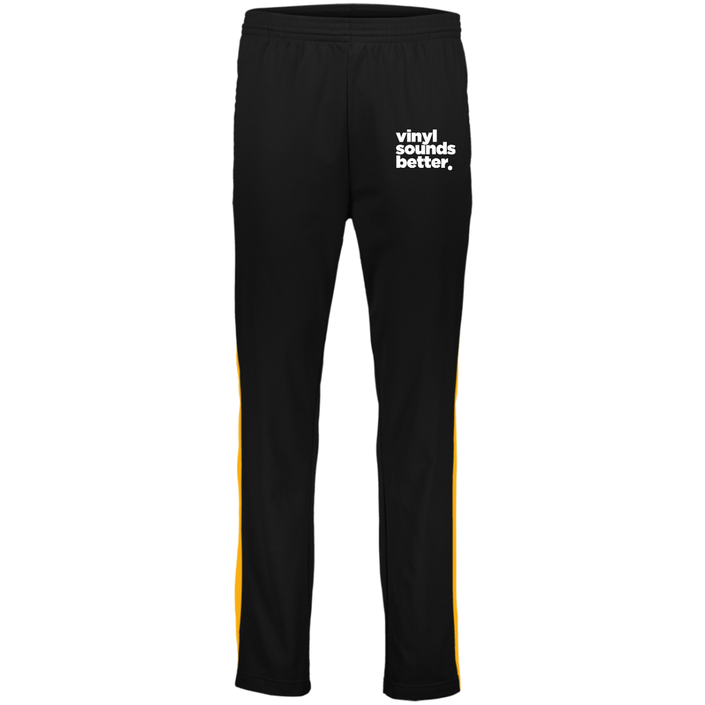 Vinyl Sounds Better Augusta Youth Performance Colorblock Pants