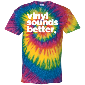 Vinyl Sounds Better Cotton Tie Dye T-Shirt