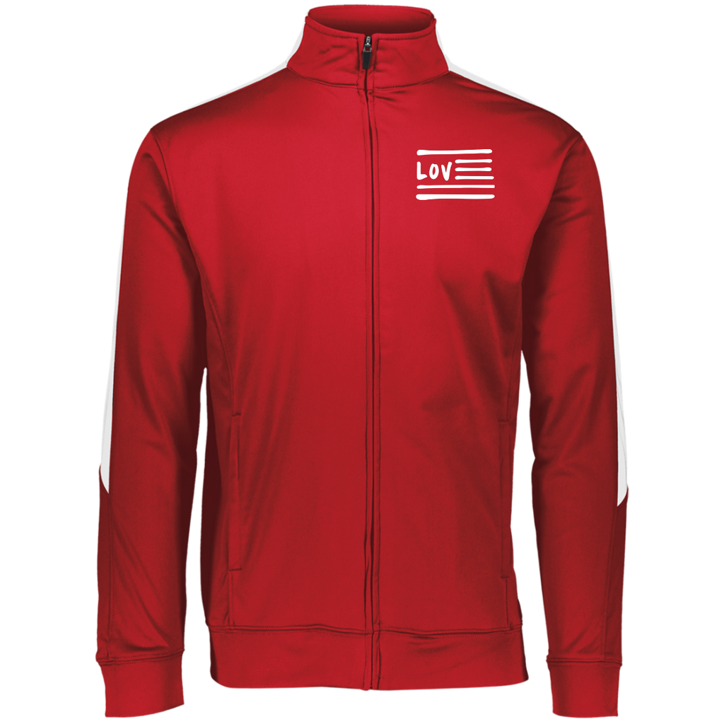 Love Nation Augusta Performance Colorblock Full Zip
