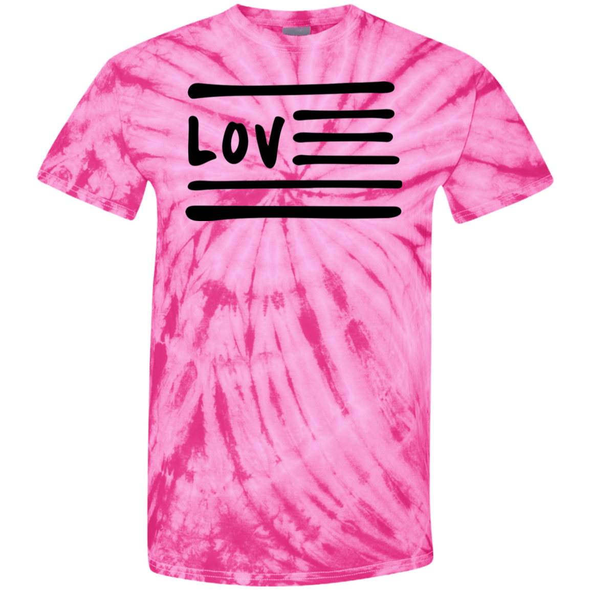 Love Nation 100% Cotton Tie Dye T-Shirt