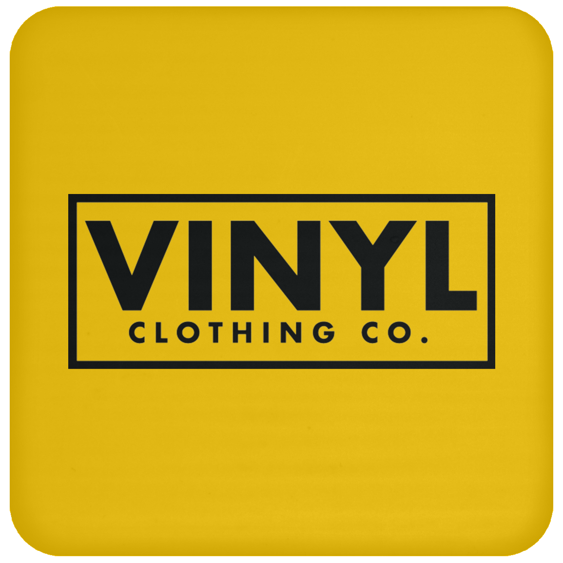Vinyl Clothing Co. Coaster - Vinyl Clothing Co - DJ Apparel Clothing Disc Jockey Vinyl Gear