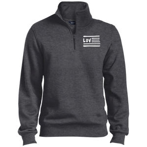 Love Nation Sport-Tek 1/4 Zip Sweatshirt