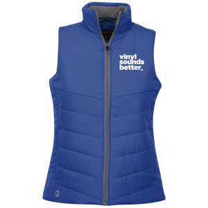 Vinyl Sounds Better Holloway Ladies' Quilted Vest