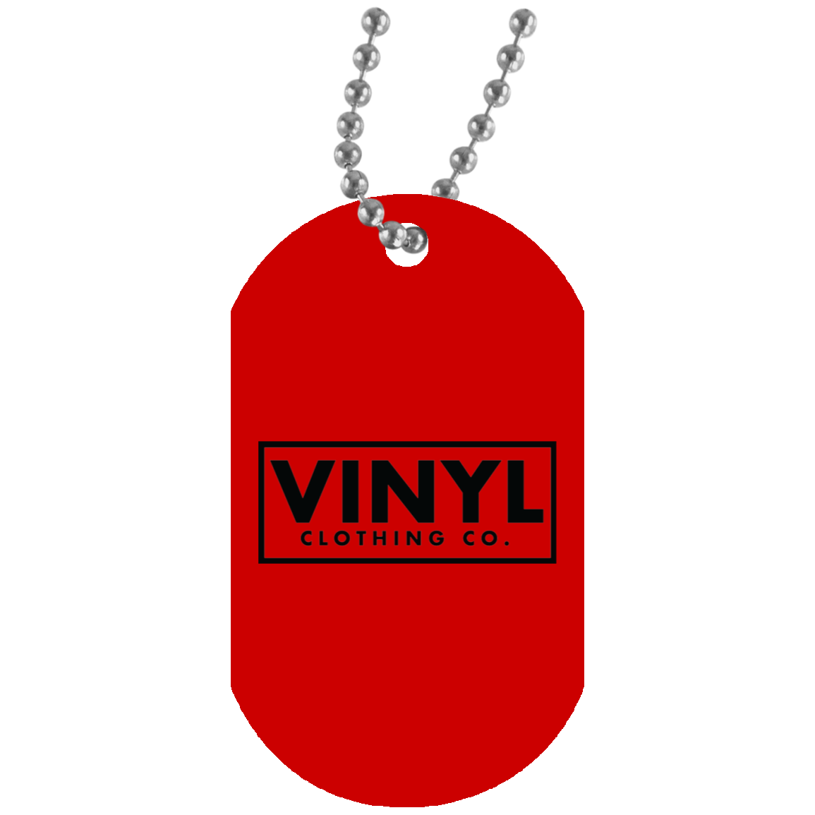 Vinyl Clothing Co. Dog Tag