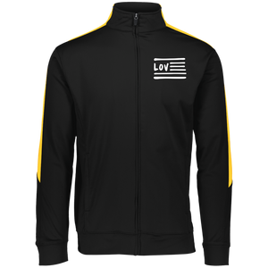 Love Nation Augusta Youth Performance Colorblock Full Zip