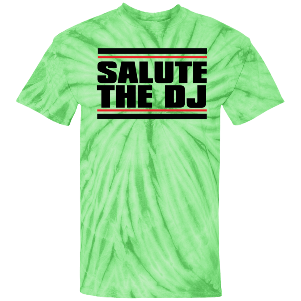 Salute The DJ 100% Cotton Tie Dye T-Shirt