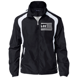 Love Nation Sport-Tek Jersey-Lined Jacket - Vinyl Clothing Co - DJ Apparel Clothing Disc Jockey Vinyl Gear