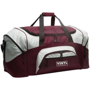 Vinyl Clothing Co. Colorblock Sport Duffel