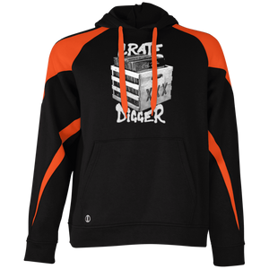 Crate Digger Holloway Colorblock Hoodie - Vinyl Clothing Co - DJ Apparel Clothing Disc Jockey Vinyl Gear