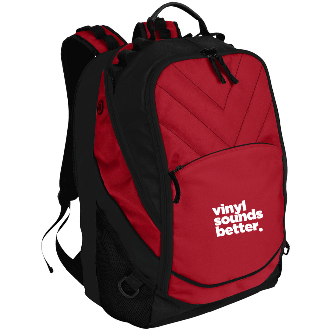 Vinyl Sounds Better Laptop Computer Backpack