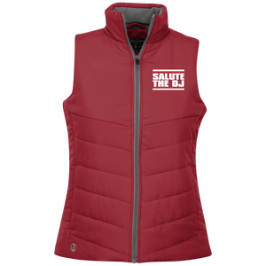 Salute The DJ Holloway Ladies' Quilted Vest