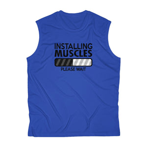 Muscles Loading Men's Sleeveless Performance Tee