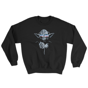 Yoda Sweatshirt - Vinyl Clothing Co - DJ Apparel Clothing Disc Jockey Vinyl Gear