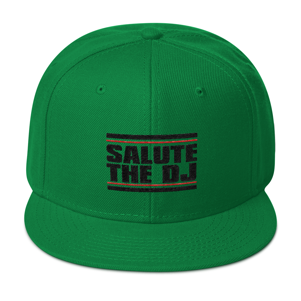 Salute The DJ Snapback Hat