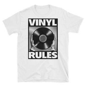Vinyl Rules Short-Sleeve Unisex T-Shirt