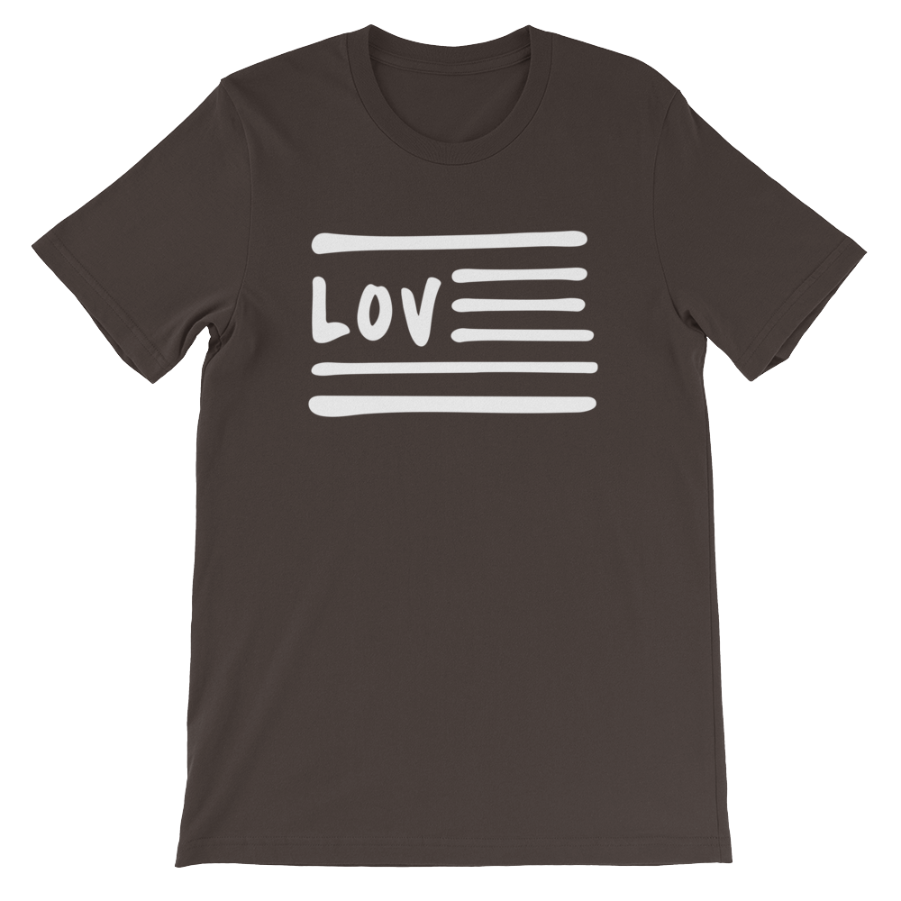Love Nation Short-Sleeve Unisex T-Shirt - Vinyl Clothing Co - DJ Apparel Clothing Disc Jockey Vinyl Gear