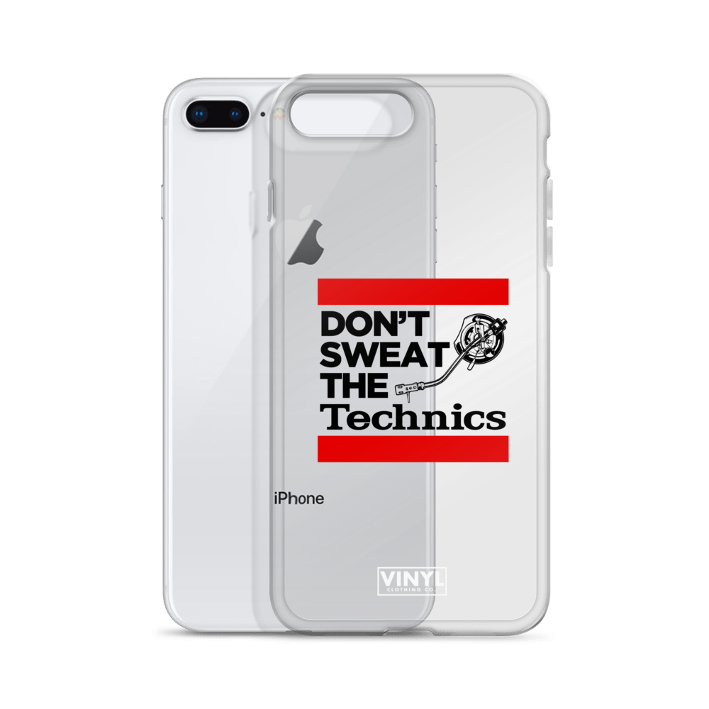 Don't Sweat The Technics iPhone Case
